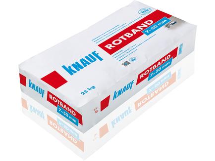 Knauf Rotband Haftputzgips Mm Kg Sack Baustoffe Shop Luki - Rotband auf fliesen